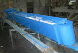 Chain scraper conveyor, chain conveyor