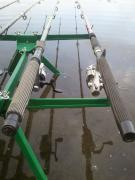 Stand for 3-4 rods, feeder, float, ground (+ VI