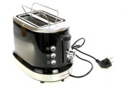 Toaster Silver Crest black grey